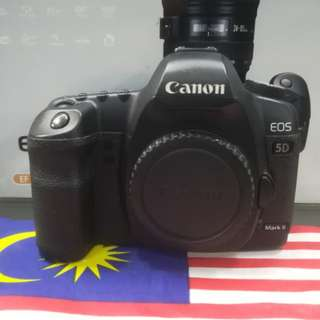 USED CANON 5D MARK II FULL FRAME DSLR BODY.