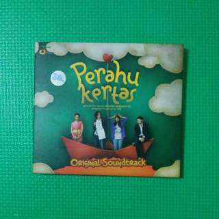 CD ALBUM OST PERAHU KERTAS BY VARIOUS ARTISTS (2012)