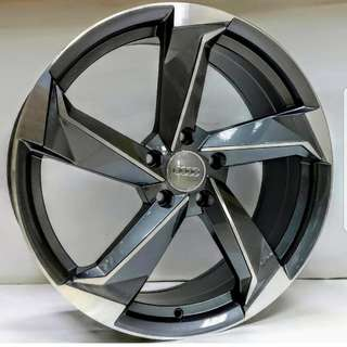 Audi 5 Bladed 19inch Rims