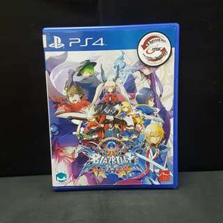 PS4 Blazblue Central Fiction (Used Game)
