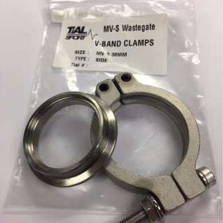 TIAL  wastegate 38mm ~~ SMALL  Single cone & clamp   model 35581