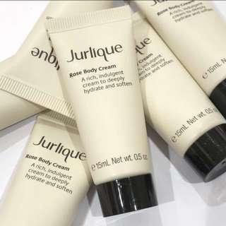 3枝 Jurlique Rose Body Cream 15ml 玫瑰草本身體滋潤乳霜