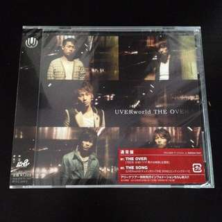 UVERworld The Over CD Single [Regular Edition]