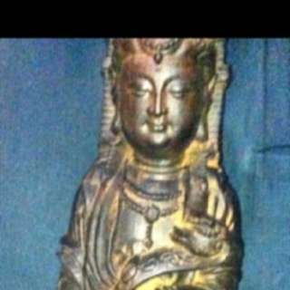 {FS138} 16 inches Agarwood Guan Yin Sculpture