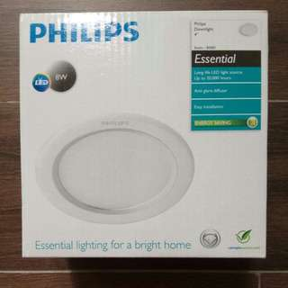 Philips Essential downlights 4""