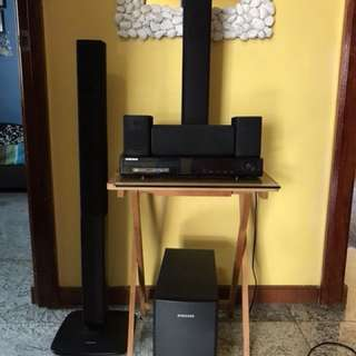 Home Theater System Samsung 5 way surround system DVD player
