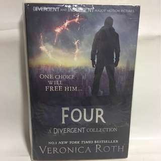 Four A Divergent Collection by Veronica Roth No.1 New York Times Bestseller