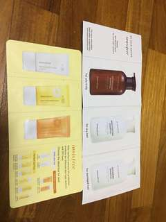Innisfree Samples