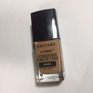Wet n Wild Photofocus Foundation in Caramel