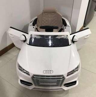 Authentic AUDI  TTS Roadster Kids Electric Car