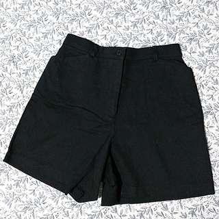 Highwaist Black Short