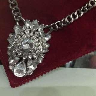 婚後物資 Pre Wedding 超大水晶寶石項鍊