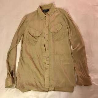 Guess x Marciano 100% Silk Shirt
