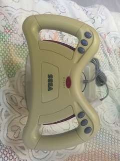 Sega 世嘉Saturn Steering wheel 100% Work 軚盤 按鍵操作正常