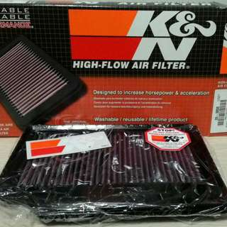 Proton Exora Turbo K&N Drop-In Filter