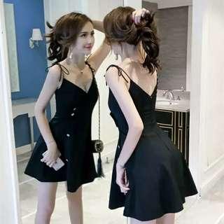 BN Black Dress  -  size / M
