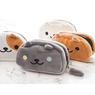Plush Cat Pencil Case [PO]