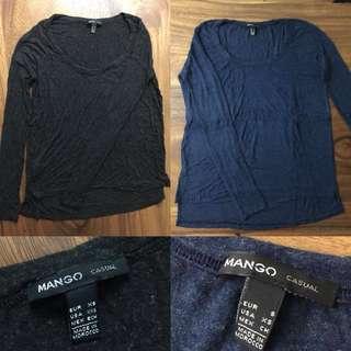 Mango long sleeves