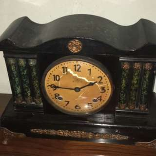 Pre-war antique table clock