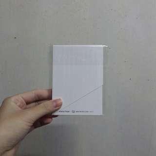 BTS Wings tour mini photo card ver.1