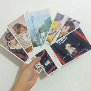Selling BTS postcards