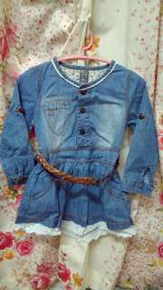 Denim Blouse Jacket Jeans