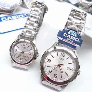 Original Casio Couple watch LMTP-1215A