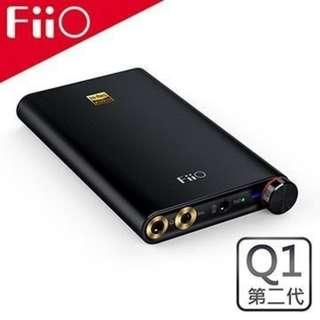 全新 FiiO Q1 Mark II 耳擴 USB DAC Amplifier AMP