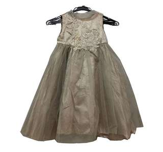 Toddler dress gown