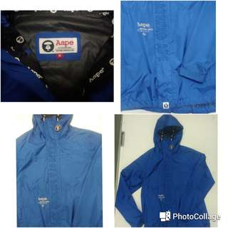 Bape jacket windbreaker
