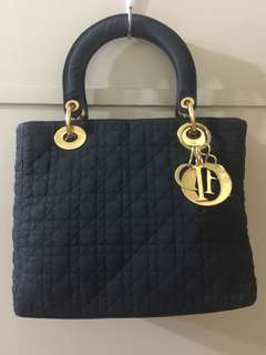 Lady Dior Handbag ( FABRIC )