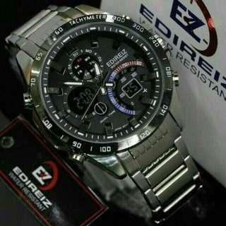 Jam tangan pria edireiz 8106 original