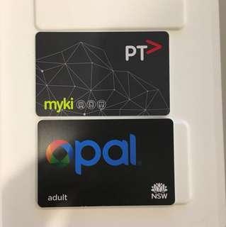 Melbourne Sydney transport card