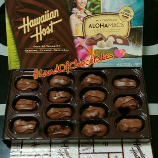 Hawaiian Host imported choco
