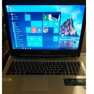 Slim Asus i7 Gaming laptop