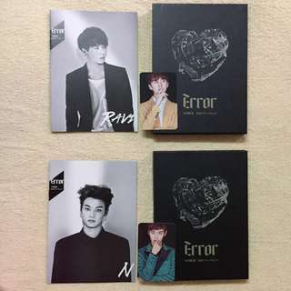 WTS VIXX ERROR ALBUM