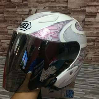 Shoei j stream couture pink