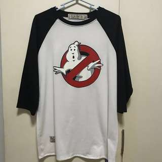 Ghostbusters Baseball Top