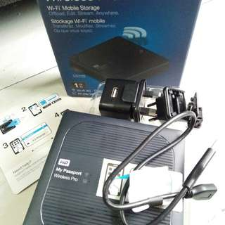 WD HD External Wireless (Hadiah Lomba)