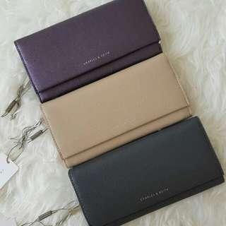 original  charles and keith wallet