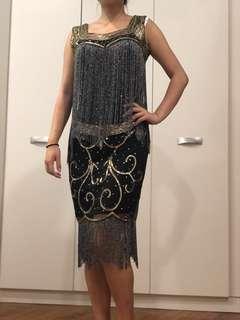 1920' Great Gatsby Dress