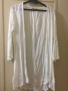 Cotton On White Cardigan