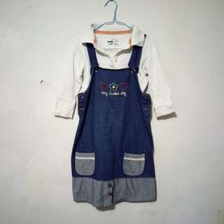 Satu set rok anak