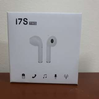 i7s TWS Wireless Bluetooth Earphone (White)
