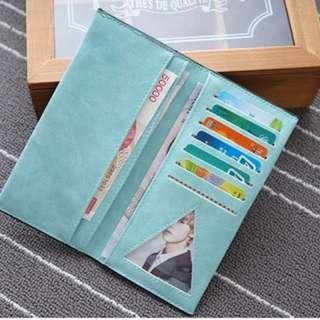 [CMT] 037 Korean Thin Long PU Wallet
