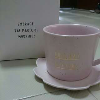 BNIB. Kikki.k Porcelain Tea Cup + Saucer UP $22.90 sell $10