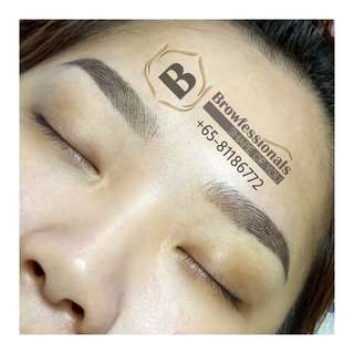 $288 NETT ❤ FUSION BROWS Eyebrow Embroidery