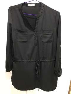 Zalia Black Blouse / Top size S