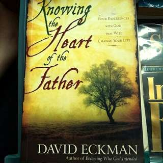 Bn Knowing the Heart of the Father by David Eckman