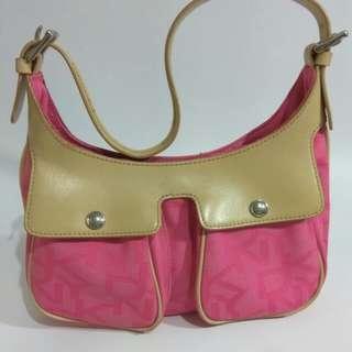 Pre❤ DKNY pink Hobo bag